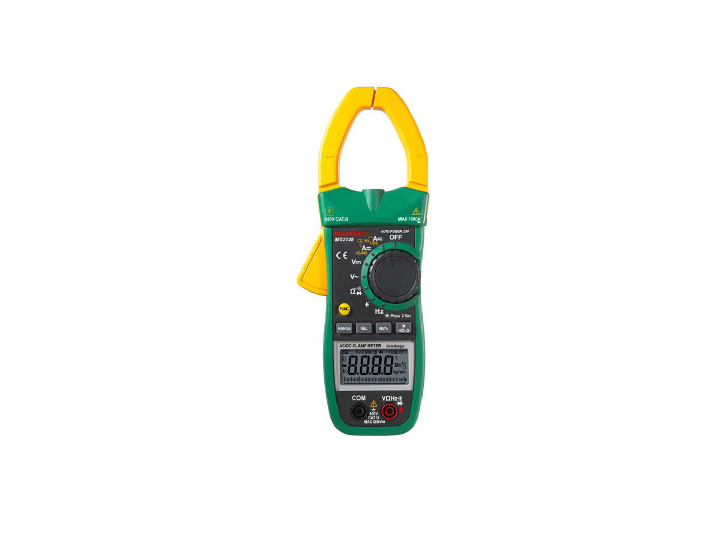 Mastech MS 2138R Clamp Meter